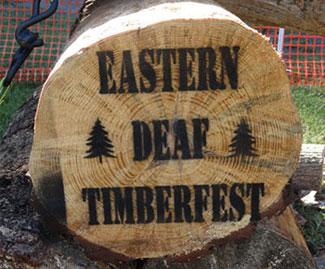 timberfest log